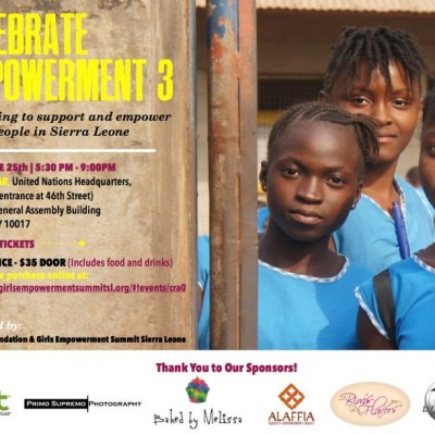 AWDF-USA and Girls Empowerment Summit Sierra Leone (GESSL) Team Up for 'Celebrating Empowerment 3′