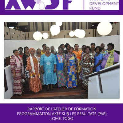 Results Based Programing Report in French -Togo Report (dragged)