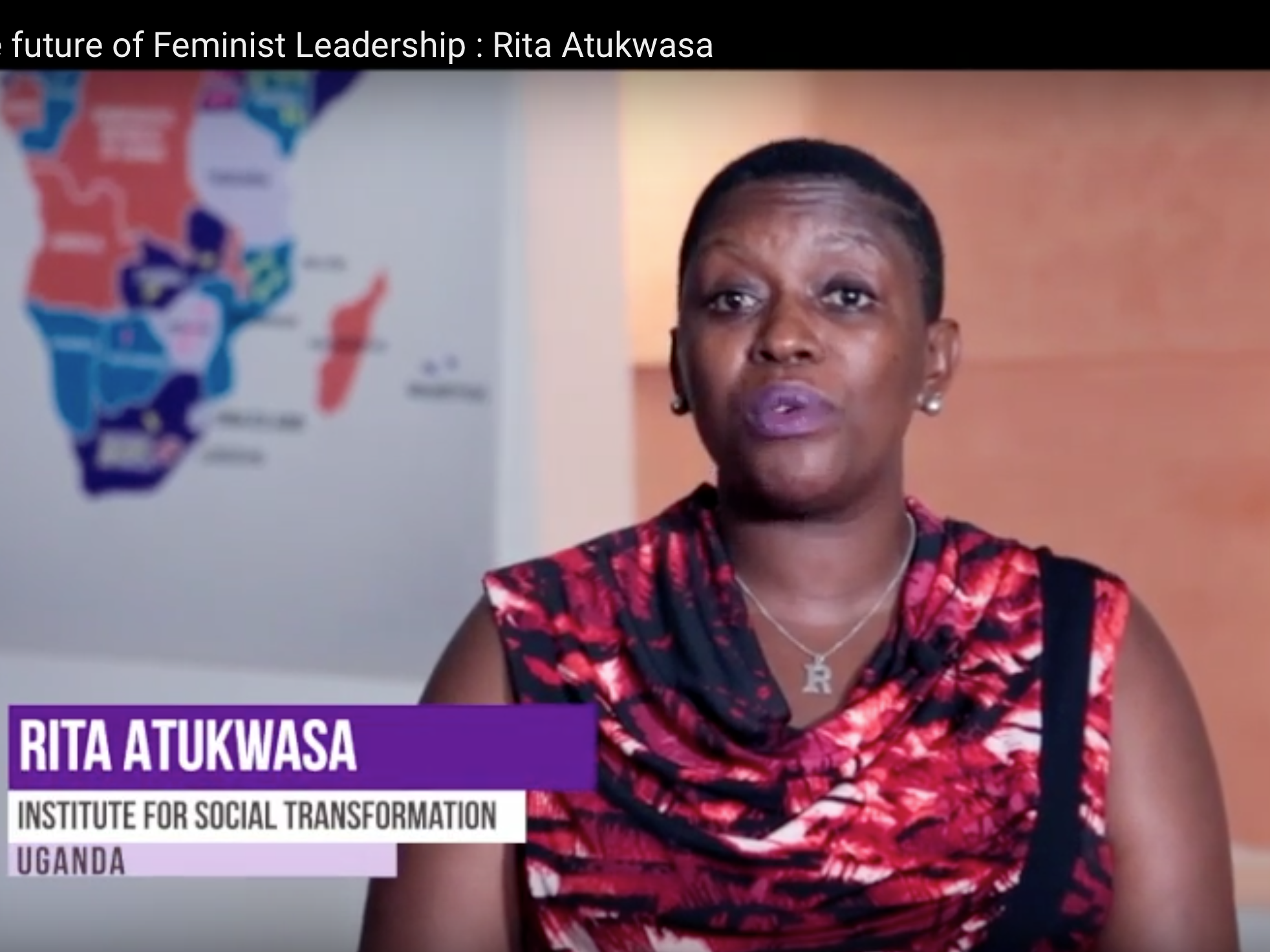 Meet the future of Feminist Leadership : A video interview with Rita Atukwasa