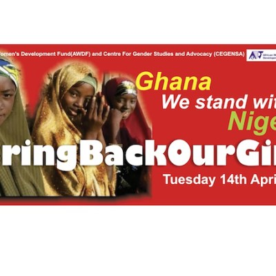 We stand with Nigeria, #BringBackOurGirls
