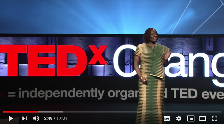THEO SOWA ON TEDx talk